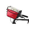VAUDE Aqua Box Torba rowerowa czerwony/czarny